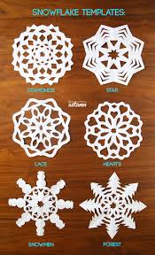 How To Macke How To Make Paper Snowflakes Its Always Autumn