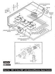 Club car ignition switch wiring diagram and with volt gas ds precedent battery 48v 1994 960