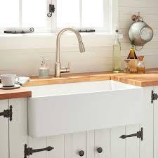 30 Reinhard Fireclay Farmhouse Sink White Kitchen
