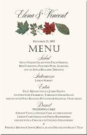 christmas menu borders winter theme wedding menu cards snowflake wedding menu cards