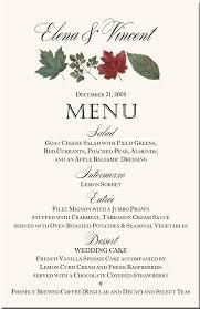 Winter Theme Wedding Menu Cards Snowflake Wedding Menu Cards