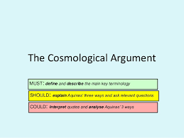 the cosmological argument russell and copleston debate 2 the cosmological argument