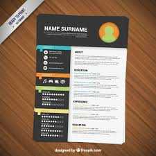 Creative Resume Templates Free Download Resume Vectors Photos And Psd Files Free  Download Free