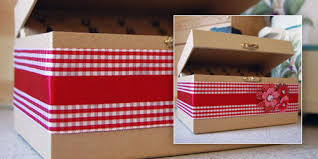 Decorative Recipe Box Recipe Box Print My Ribbon 4