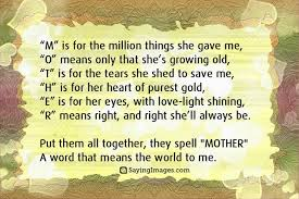 I Love You Mom Quotes From Daughter Fascinating Inspirational Quotes For Mother's Day Happy Mothers Day 48