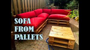 how to make a <b>pallet sofa</b>/<b>couch</b> step by step with manual
