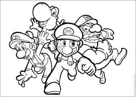 Small Picture mario brothers coloring pages BestAppsForKidscom