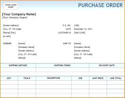 Sample Standard Purchase Order Form In Sap For T Shirts