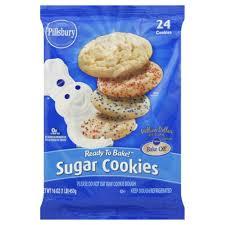 pillsbury sugar cookies. Simple Sugar Refrigerated Sugar Cookies  24 Count For Pillsbury I
