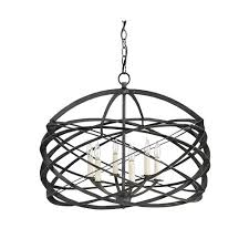 currey company 9729 horatio 6 light 27 inch black iron chandelier ceiling light