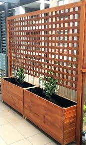 garden trellis with planters patio trellis planters privacy screens fresh for best garden planters ideas garden