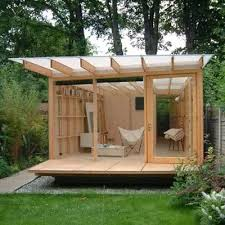 outside office shed. multipurpose office space outside shed w