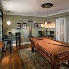 Billiard Room Decor With Grey Walls , Cool Billiard Room Decor In Interior  & Decor Category
