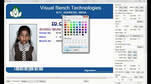 Digital School Id Card Preparation Youtube
