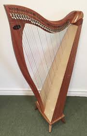 Lever Harp Key Chart Crescendo 34 With Camac Levers Gut Strings In Stock
