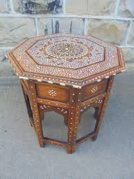 antique anglo indian folding table coffee table c 1900 1 of 8
