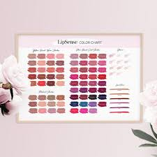 Shadowsense Color Chart 2018 Lipsense 2018 Color Chart All Colors Glosses Linersense Blush Design Lipsense Colors Poster 2018 Lipsense Glosses Colors Printable