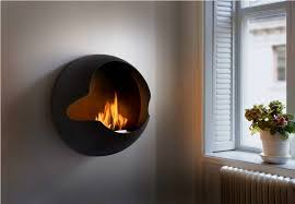 image of wall mount electric fireplace heater