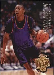 Amazon.com: 1994-95 Ultra #153 Wesley Person RC NBA Basketball Trading  Card: Collectibles & Fine Art