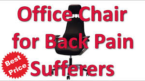 Plain Desk Chair For Back Pain Best Office And Decorating