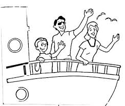 Disney Cruise Coloring Pages And Cruise Line Coloring Pages Ship To
