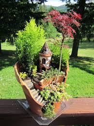 Fairy Garden with the Castle