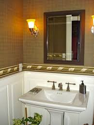 half bathroom ideas brown. half bathroom decorating ideas brown
