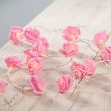Buy 30 LED Pink Rose Flower Indoor Fairy Lights From Our Novelty U0026  Decorative Lighting Range At Tesco Direct.