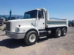 white gmc trucks. Exellent Gmc 1994 WhiteGMC WG Dump Truck Inside White Gmc Trucks