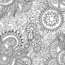 Coloriage Zen Avec Motif Paisley
