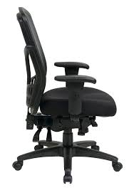 Office Chair With Adjustable Arms Amazoncom Office Star High Back Progrid Back Freeflex Seat With