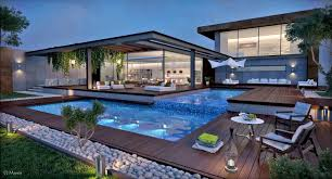 Images About Stunning Pools Architecture Also Modern Pool In Garden Modern  Pool In Garden
