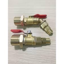Đầu béc rửa máy lạnh điều hòa dùng cho máy rửa xe chỉnh áp - đầu chỉnh được  - ngắn/cong