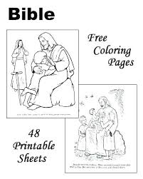 Free Printable Bible Story Coloring Pages Story Colouring Pages