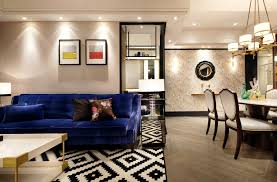 apartment living room rug. Best Small Apartment Living Room Designs With Geometric Patterned Area Rug And Blue Sofa M