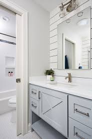 White Bathroom Remodel Ideas Mesmerizing Kids Bathroom Transitional Bathroom Minneapolis By RHouse