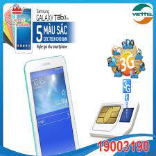 Thông tin hướng dẫn sử dụng sim 3G Viettel tặng khi mua máy tính bảng  Samsung Tab3 Lite