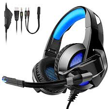 Gaming Headset for PS4, TENSWALL Comfortable <b>Over</b>-<b>Ear</b> ...