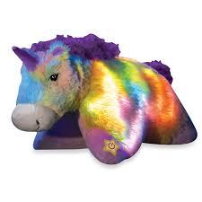 Pillow Pets Glow Pets Rainbow Unicorn Animal Pillows