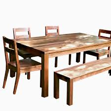 a hand crafted modern farmhouse dining table made to modern farmhouse table setting