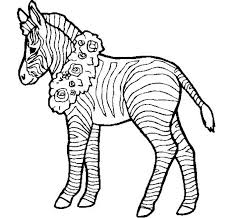 Zebra With Flower Coloring Page 40 zebra templates free psd, vector eps, png format download on free psd photo templates