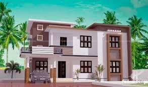 Contemporary 2 story Kerala home design - Hello Homes