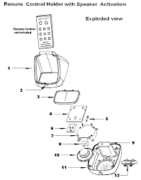 remote control drawing. patent drawing remote control r