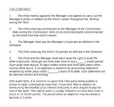 Band Performance Contract Template Band Performance Contract