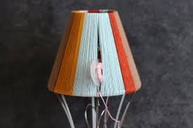 cheerful diy color blocked pendant lamp from honestly