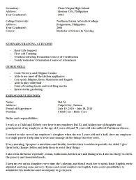 Ap Nursing Resume Sales Nursing Lewesmr