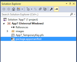 Convert Web Application To Universal Windows Platform App In Visual ...