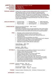 Business Resume Templates Business Development Manager Cv Template Managers Resume  Templates