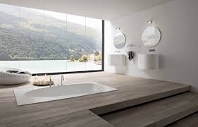 luxury spa bathroom design luxury modern bathroom ideas round shape white round stainless steel towel white