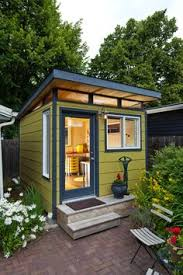 outside office shed. beautiful office a small modern flat roofed yellow garden house for outside office shed